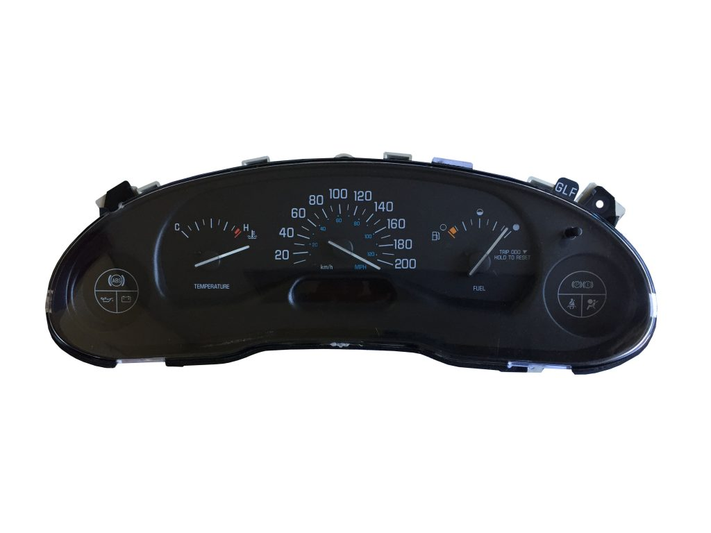 1999 2003 Buick Century Amp Regal Dashboard Instrument Cluster