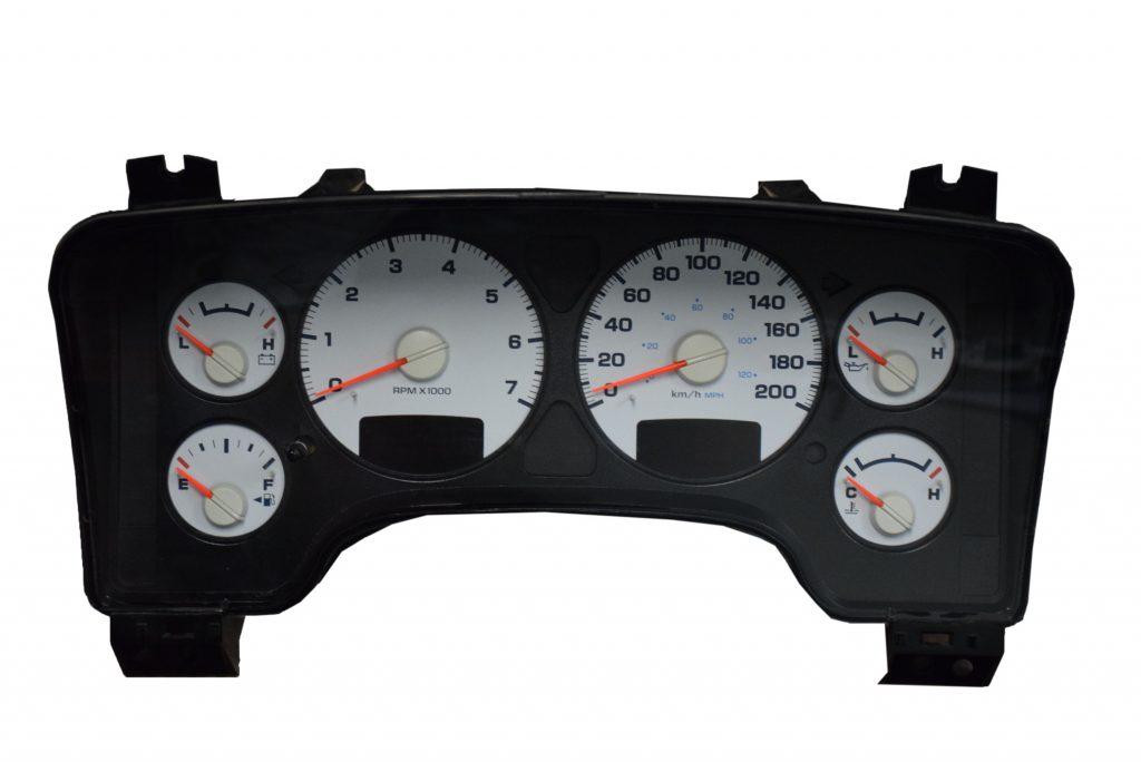 2003 2005 dodge ram instrument cluster gauges do not work properly or at all sticky gauges. Black Bedroom Furniture Sets. Home Design Ideas