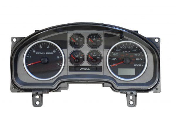 Ford F510 FX4 Dashboard