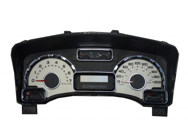 2007-2008 FORD EXPEDITION USED DASHBOARD INSTRUMENT CLUSTER FOR SALE (KM/H)