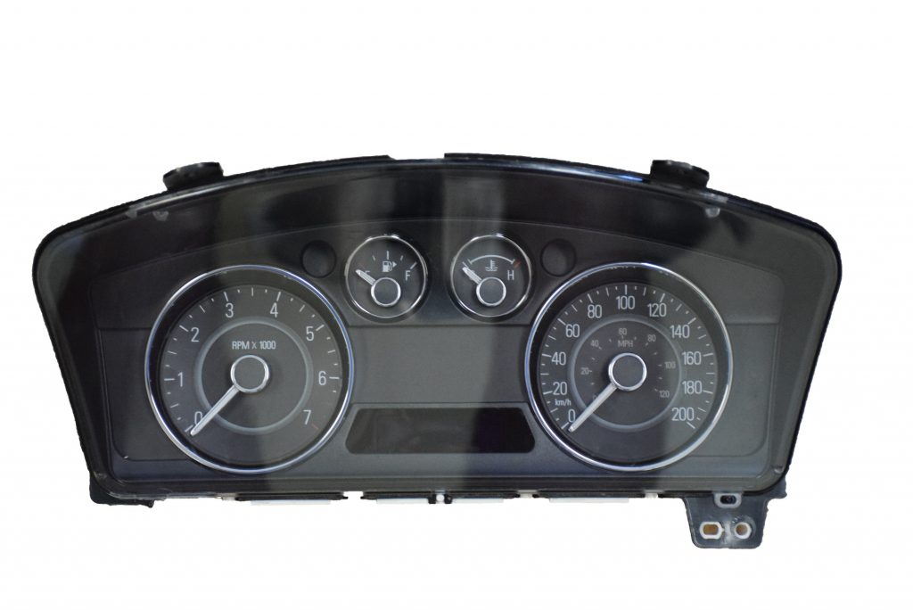 2009 2012 ford flex used dashboard instrument cluster for. Black Bedroom Furniture Sets. Home Design Ideas
