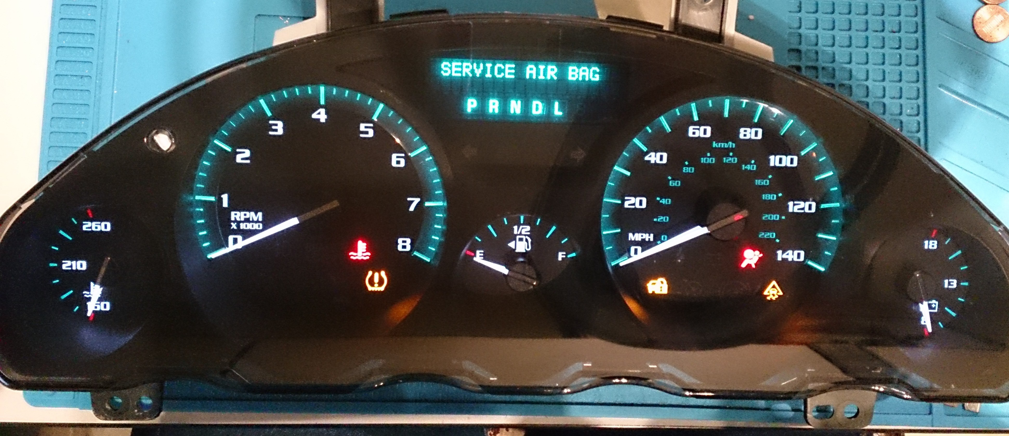 Below Are The Diagrams For The Instrument Cluster Lights And The