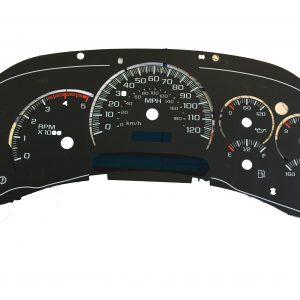 Chevy Silverado, Gas, 2 display