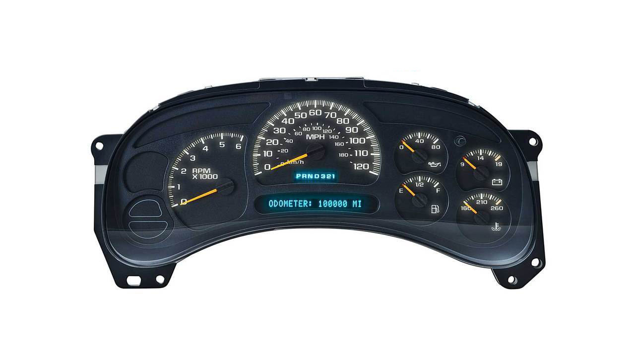 2003 2006 Chevrolet Tahoe Instrument Cluster Repair Dashboard Instrument Cluster