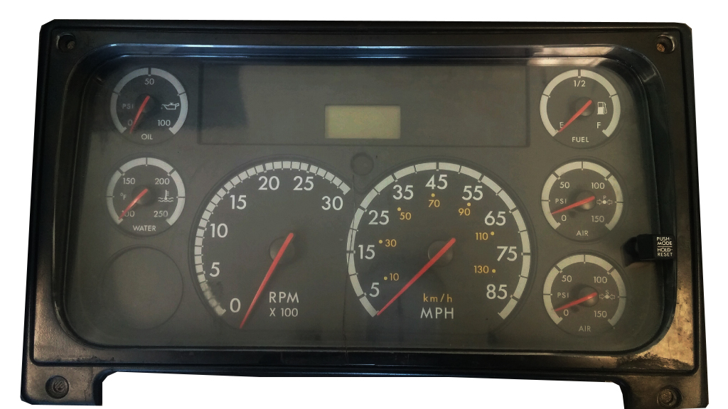 2007 FREIGHTLINER COLUMBIA TRACTOR GAUGES DO NOT WORK PROPERLY OR AT ALL,  STICKY GAUGES REPAIR SERVICE