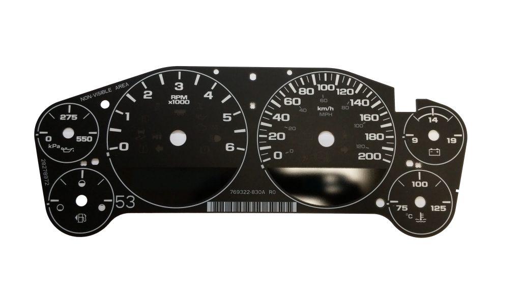 Instrument Cluster Of 1997 Chevrolet Cavaliercar Wiring Diagram
