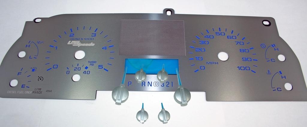 US SPEEDO STAINLESS STEEL SPEEDOMETER KIT 05-07 F250 DIESEL