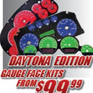 Daytona Edition Gauge Faces