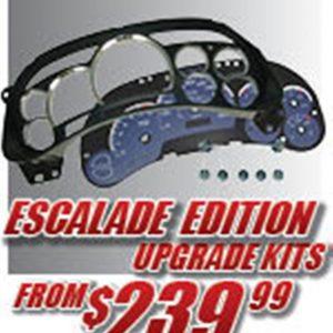 Escalade Edition Gauge Face Kits
