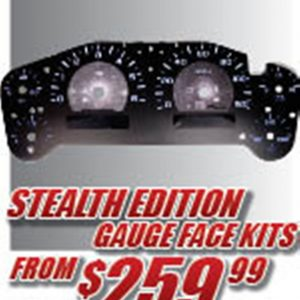Stealth Edition Gauge Faces
