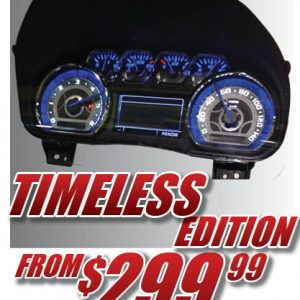 Timeless Edition Gauge Face Kit