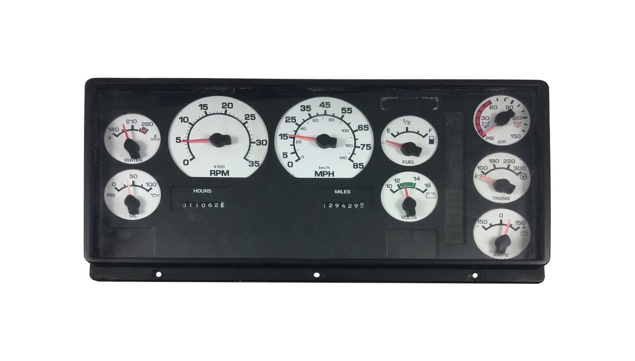 Semi Tractor Speedometer Problem Repair Vehicle Cluster