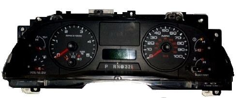 Ford F Through F on ford f550 instrument cluster gauges