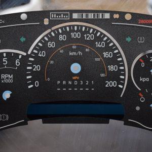 Hummer H2 Gauge Overlay
