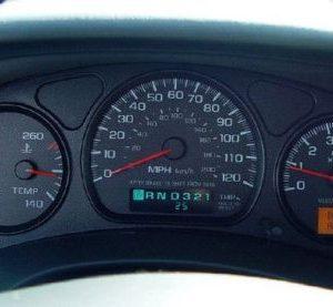 Chevy Montercarlo Dashboard