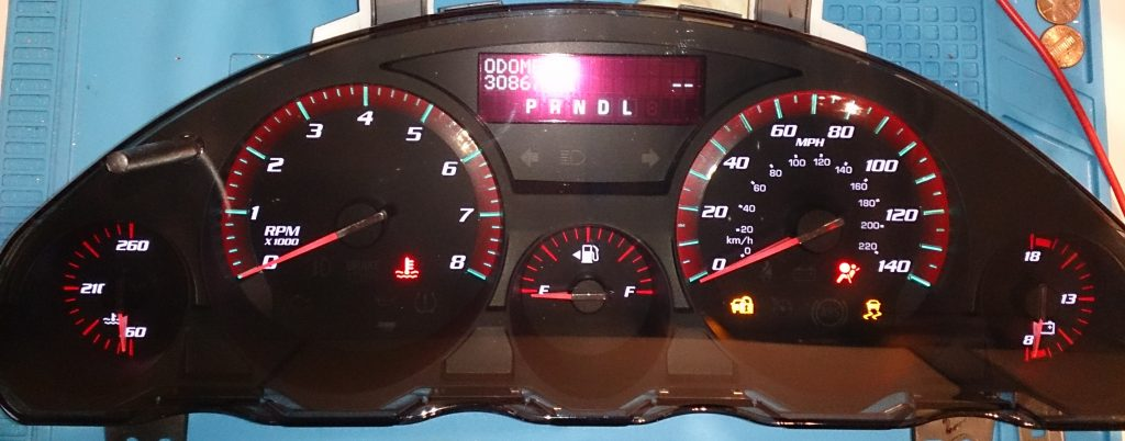 Used Gmc Acadia For Sale >> 2011-2012 GMC ACADIA USED DASHBOARD INSTRUMENT CLUSTER FOR SALE (MPH) - DASHBOARD INSTRUMENT CLUSTER