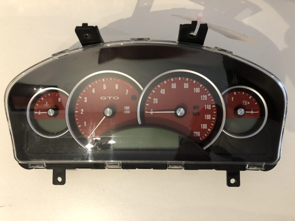 2004 PONTIAC GTO USED DASHBOARD INSTRUMENT CLUSTER FOR ...