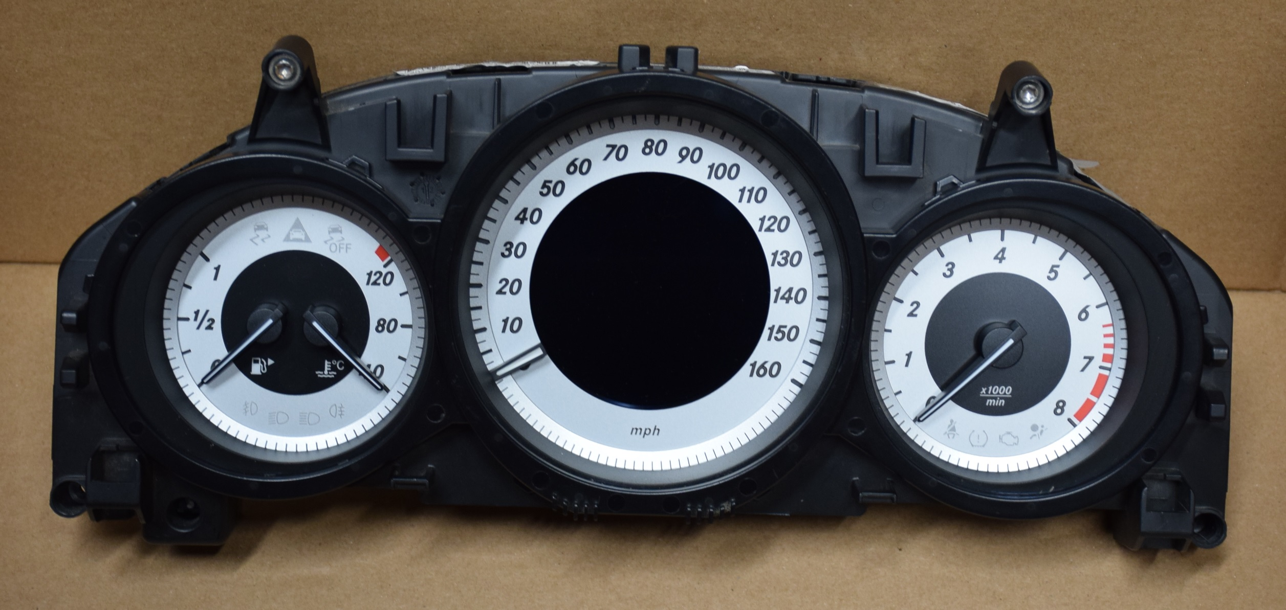 2012-2015 MERCEDES C250, C300, C350,W204 USED DASHBOARD INSTRUMENT CLUSTER  FOR SALE (MPH)
