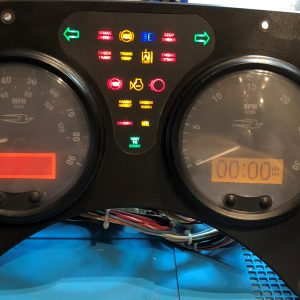 2005 BLUE BIRD M45 USED DASHBOARD INSTRUMENT CLUSTER FOR SALE (MPH