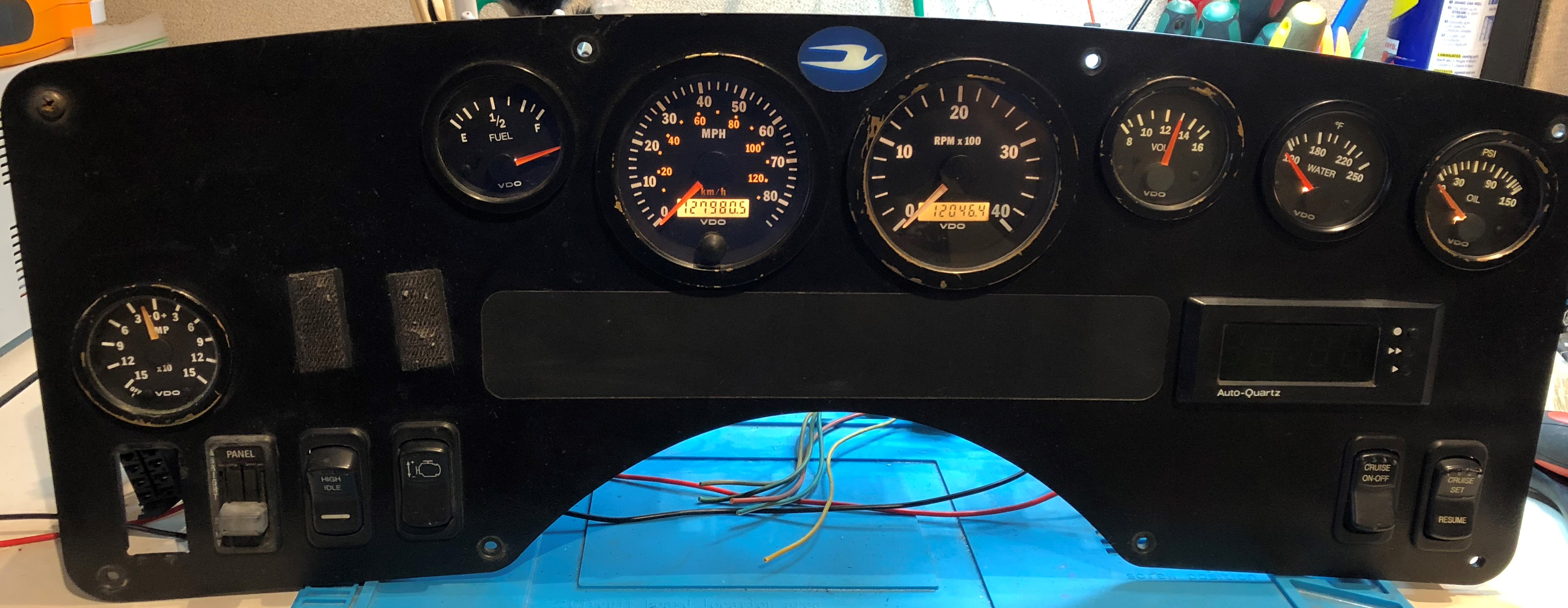 "HPM 5 Ply /"" BLUE /"" 87-92 LT250R LT250 Exhaust Coupler"