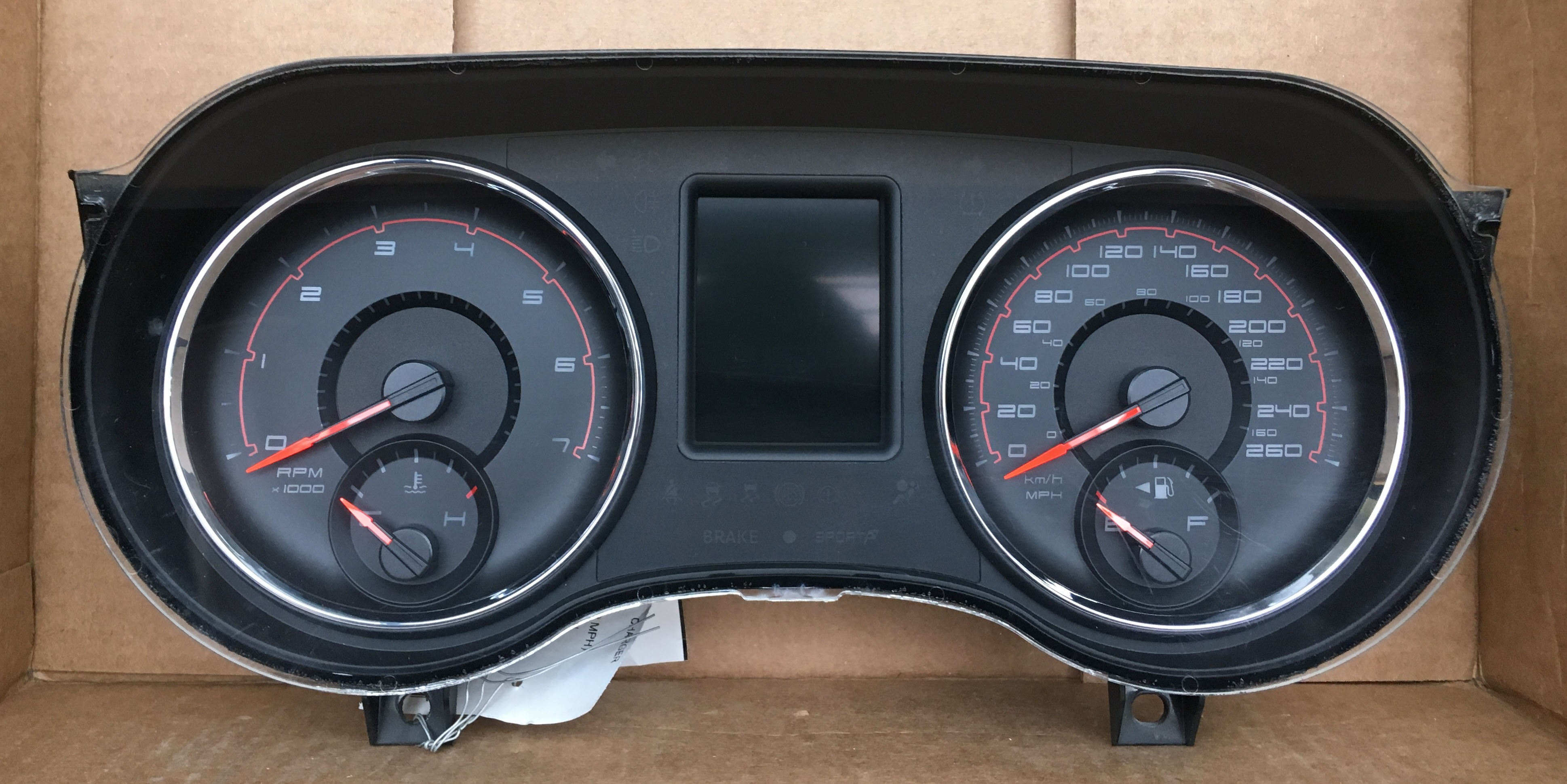2014 Dodge Charger Used Dashboard Instrument Cluster For Sale Km H Dashboard Instrument Cluster