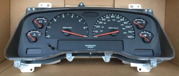 2001-2004 DODGE DAKOTA/DURANGO USED DASHBOARD INSTRUMENT CLUSTER FOR SALE  (MPH)