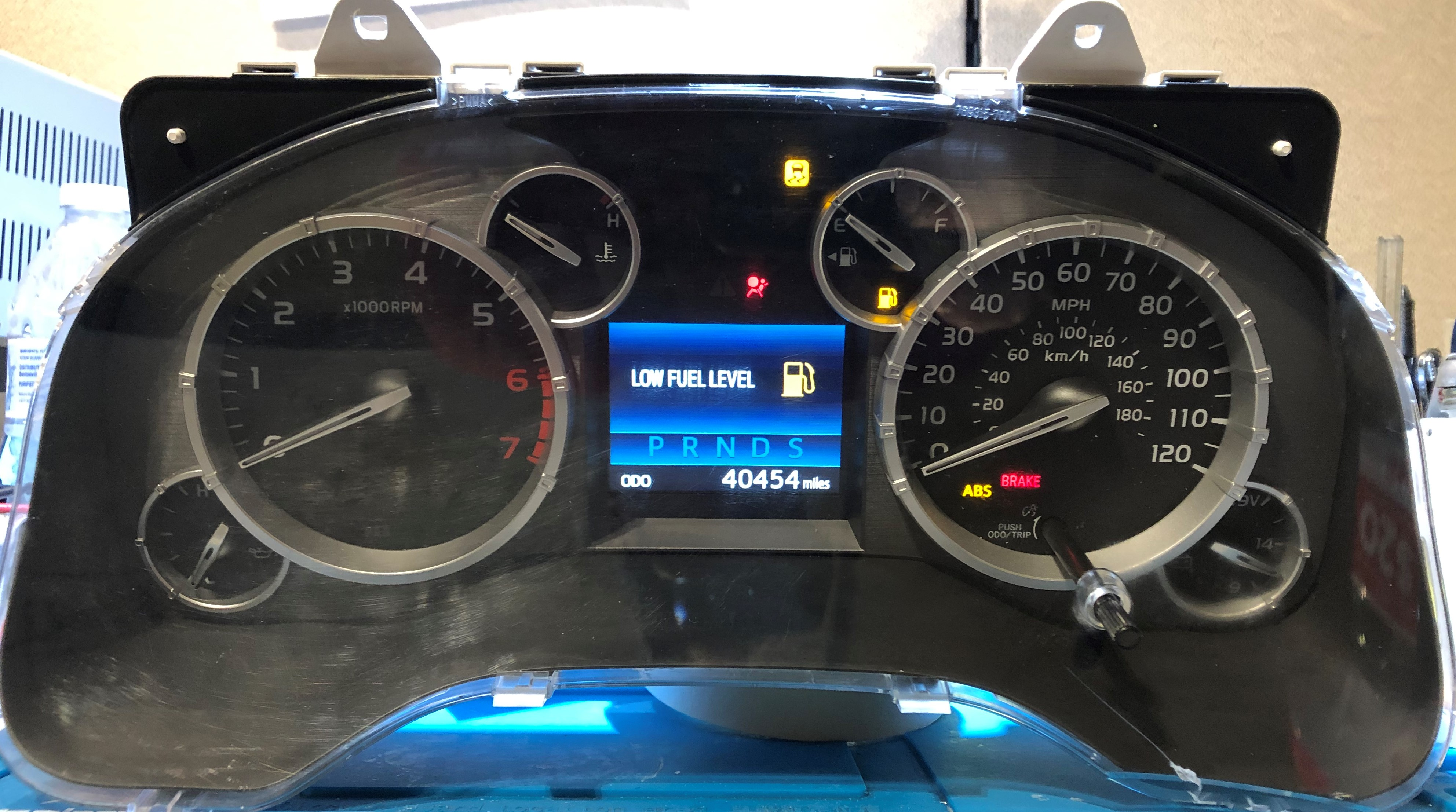 2014 Toyota Tundra Used Dashboard Instrument Cluster For Sale Mph Dashboard Instrument Cluster