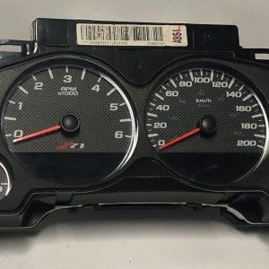 GMC Sierra Z71 Dashboard