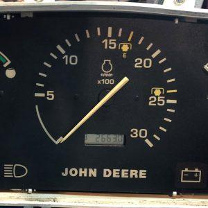 Jhon Deere Tractor Dashboard