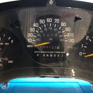 Chevrolet Monte Carlo Dashboard