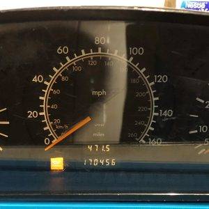 Mercedes C280 Dashboard