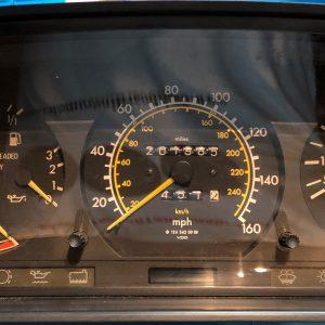 Mercedes E300 Class Dashboard