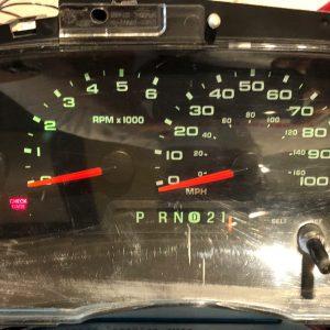 Ford EI50 Dashboard