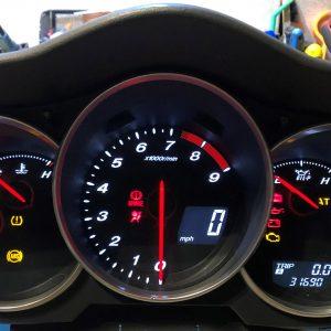 Mazda XR8 Dashboard