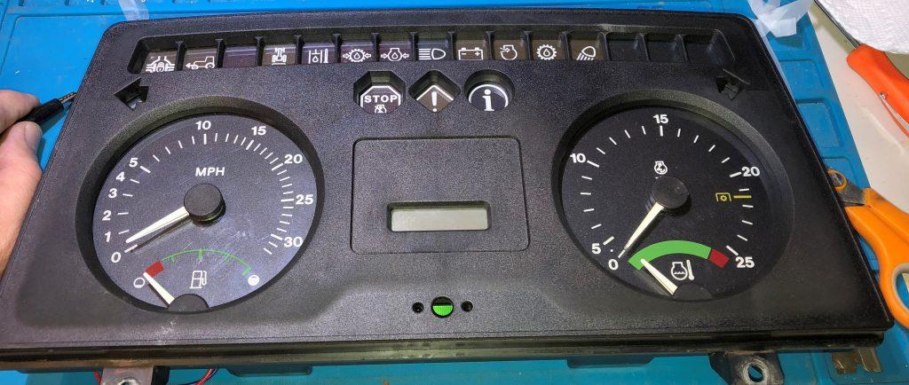 John Deere Tractor Dashboard Instrument Cluster Gauges