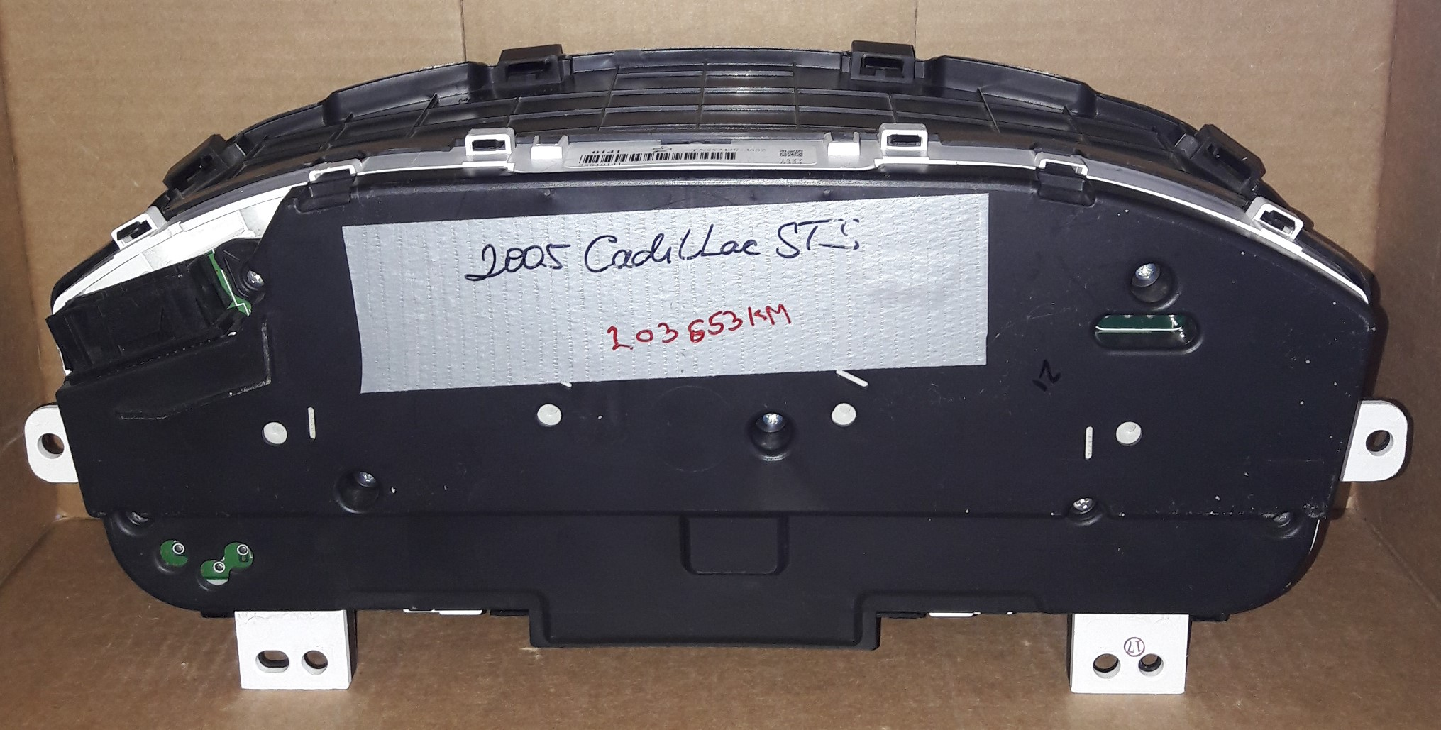 2005 CADILLAC STS USED DASHBOARD INSTRUMENT CLUSTER FOR SALE (KM/H)