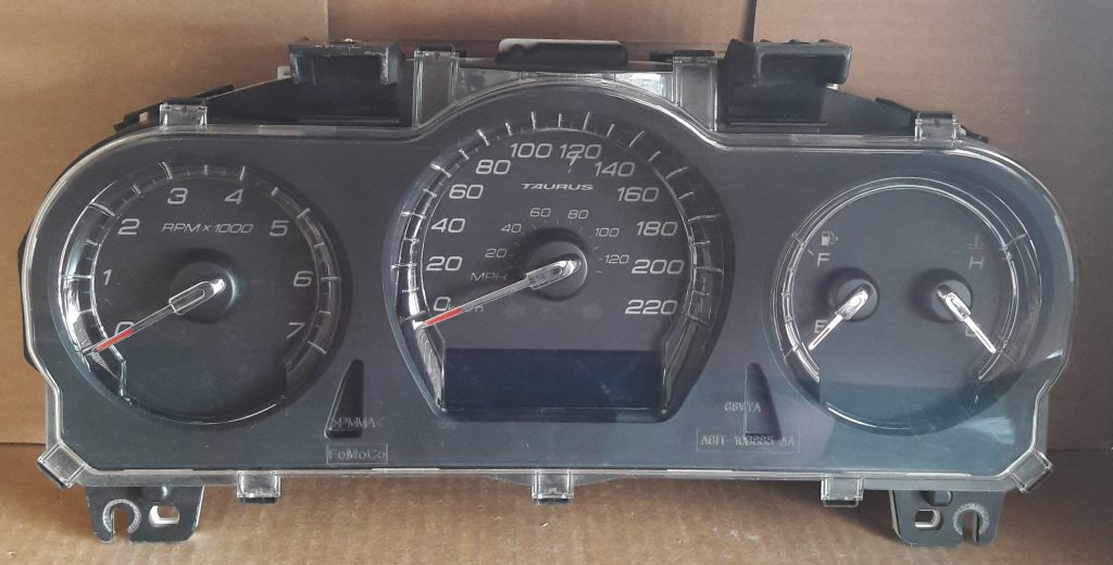 2010 Ford Taurus Used Dashboard Instrument Cluster For Sale  Km  H
