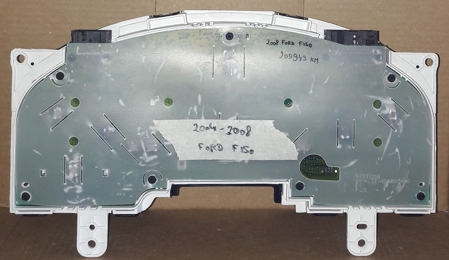 2004-2008 FORD F150 USED DASHBOARD INSTRUMENT CLUSTER FOR SALE (KM/H)