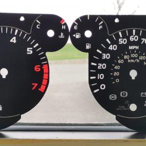 Toyota Tundra Gauge Overlay Faceplate