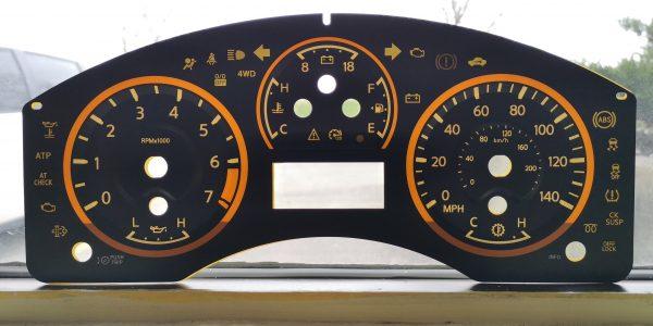 Nissan Titan 3d Gauge Faceplate