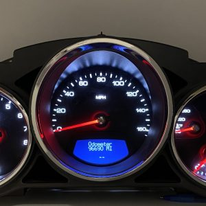 2008-2010 CADILLAC CTS USED DASHBOARD INSTRUMENT CLUSTER